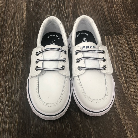 Sperry Shoes | Boys White Velcro